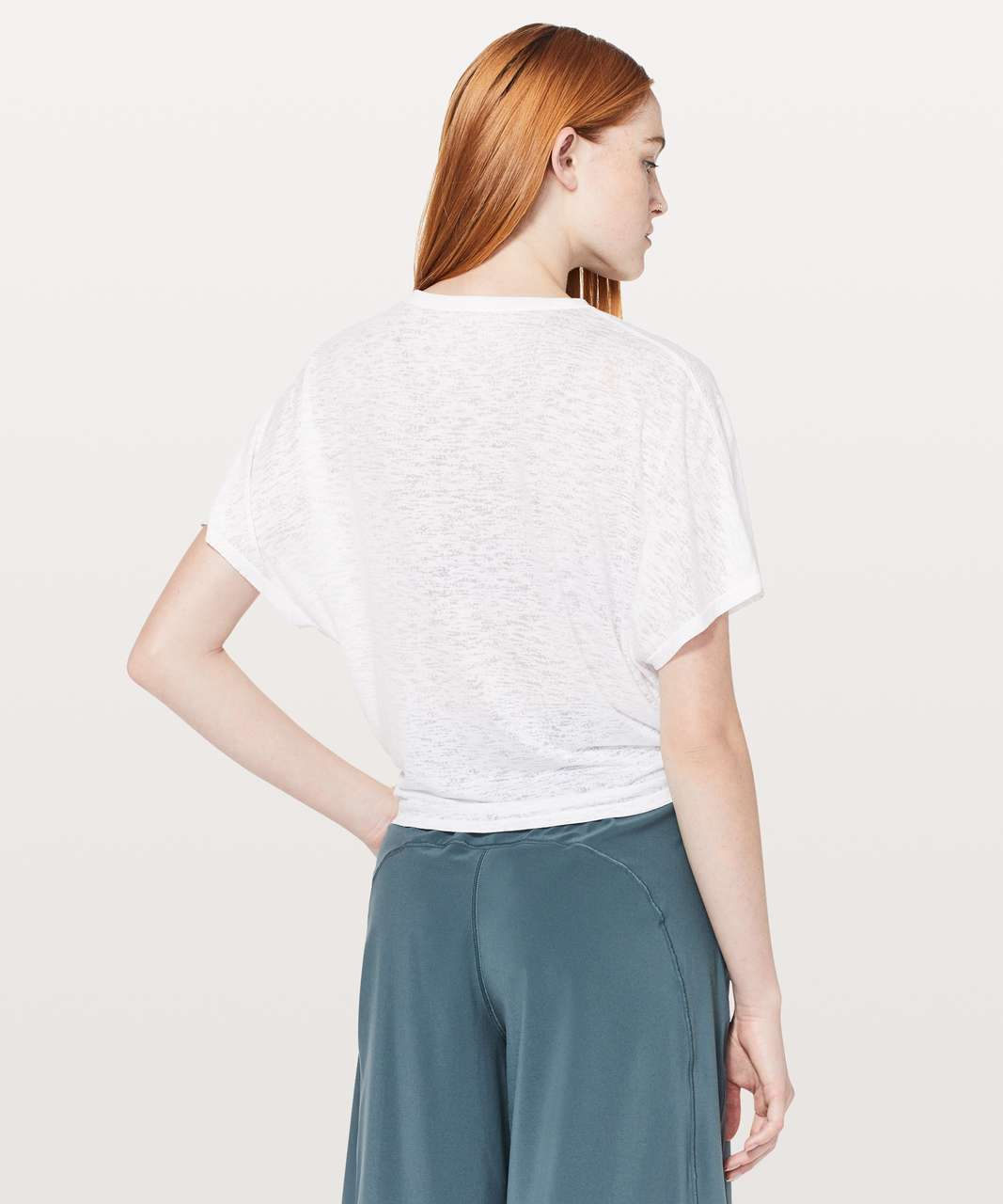 Lululemon In Sequence Short Sleeve - White