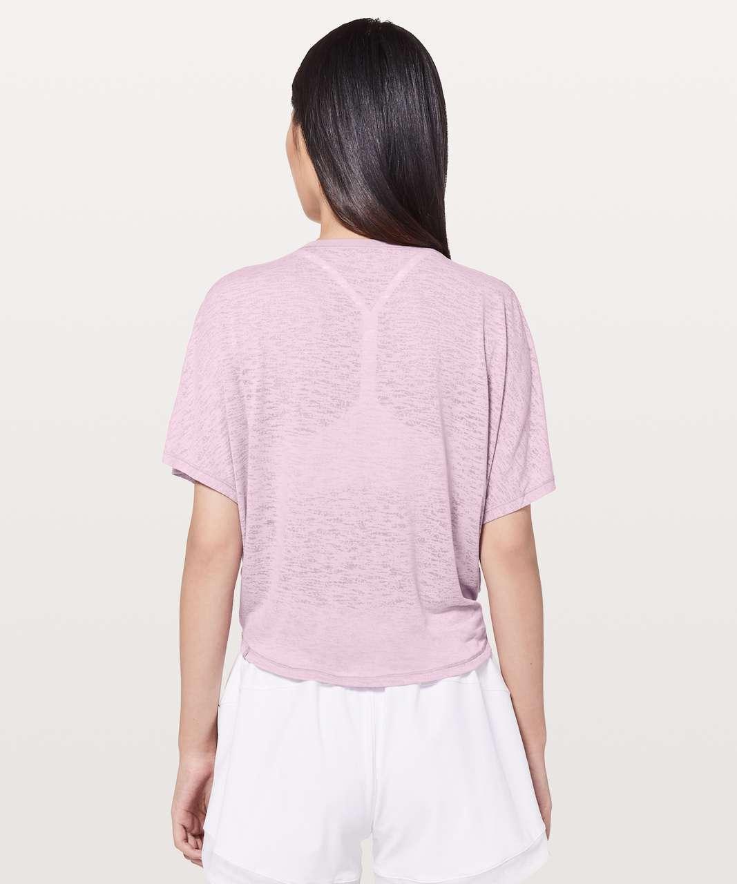 Lululemon In Sequence Short Sleeve - Rose Blush