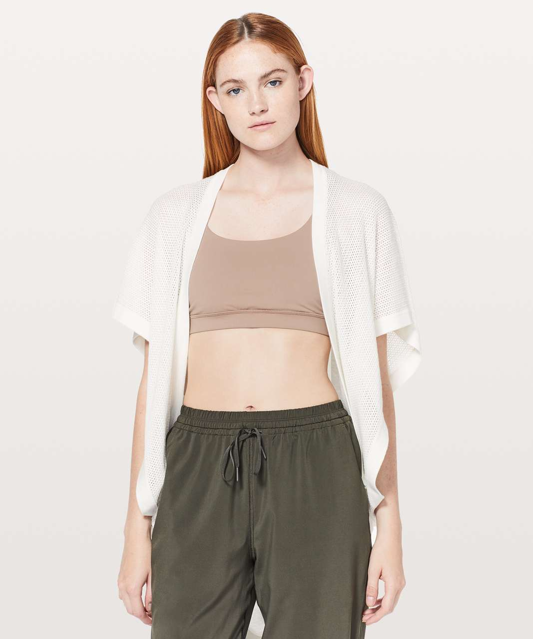 Lululemon Long Weekend Wrap - White