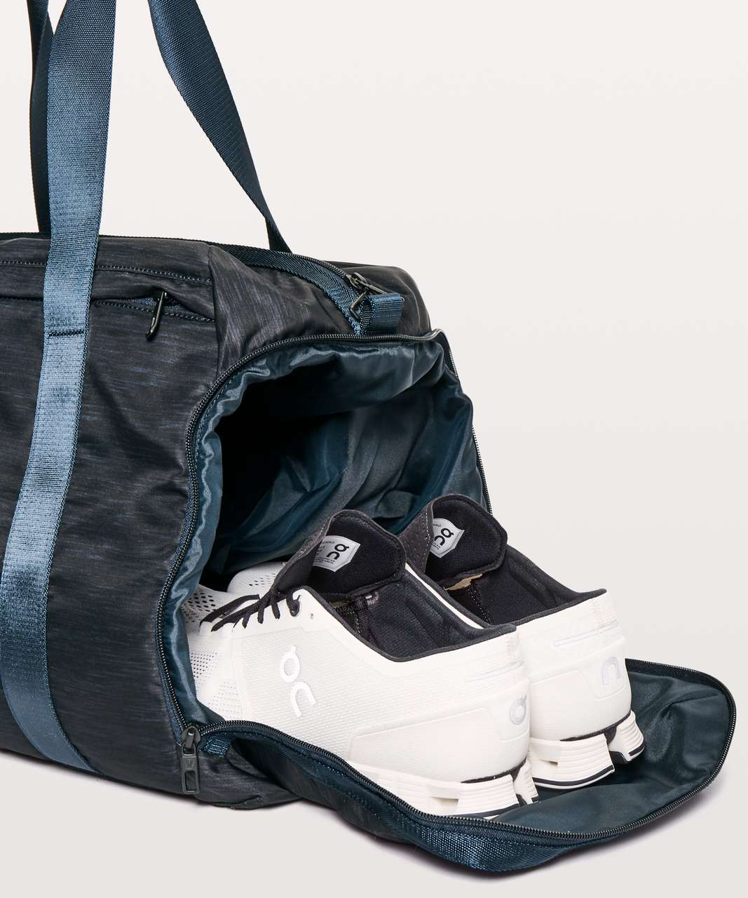 Lululemon Command The Day Duffle *37L - Heather Allover Iron Blue True Navy