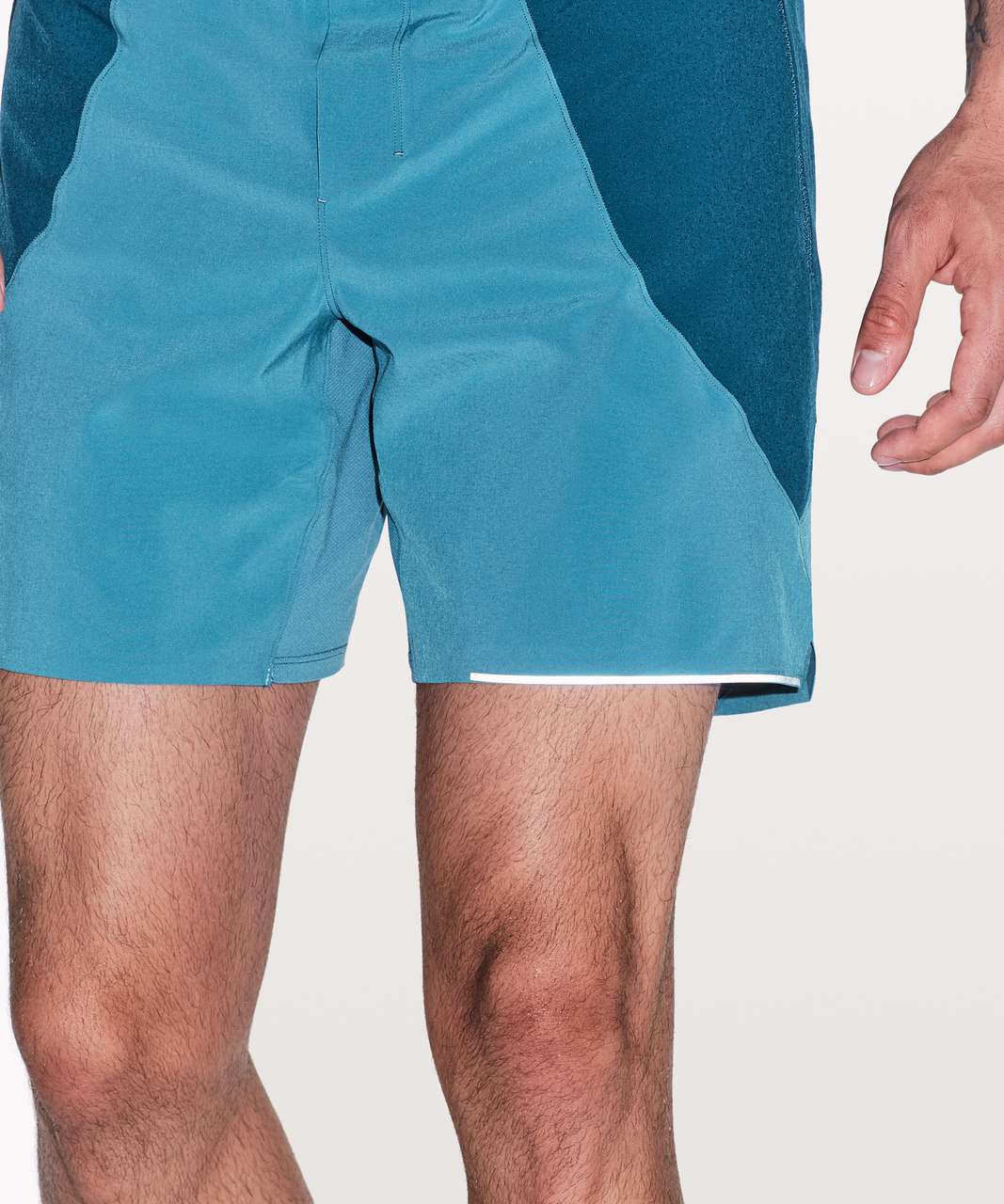 "Lululemon Switch Up Short *6"" - Pewter Blue / Poseidon"