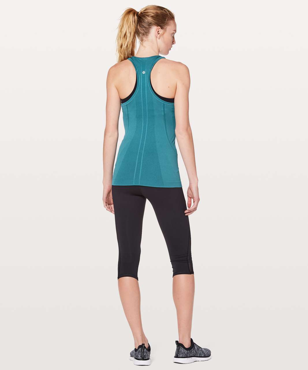 Lululemon Swiftly Tech Racerback - Pacific Teal / Pacific Teal