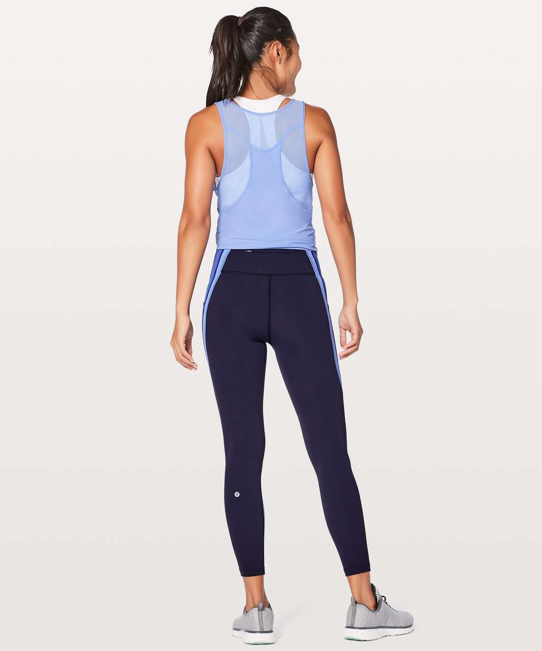 "Lululemon Wild Twist 7/8 Tight *25"" - Midnight Navy / Moroccan Blue / Light Horizon"