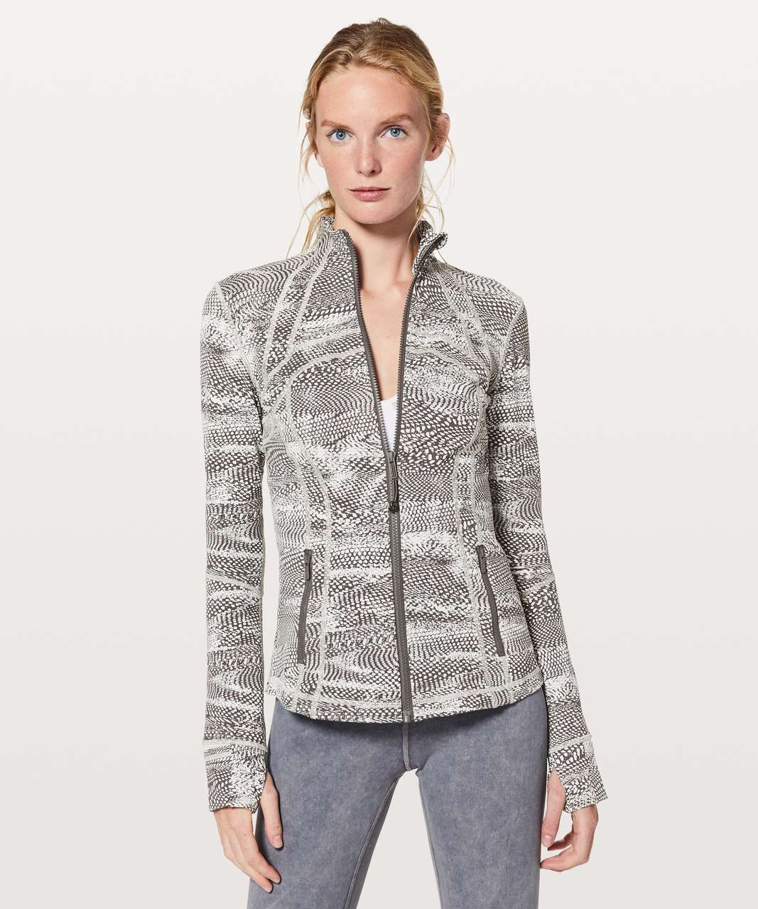 Lululemon Define Jacket - Swerve Vapor Metal Grey / Metal Grey