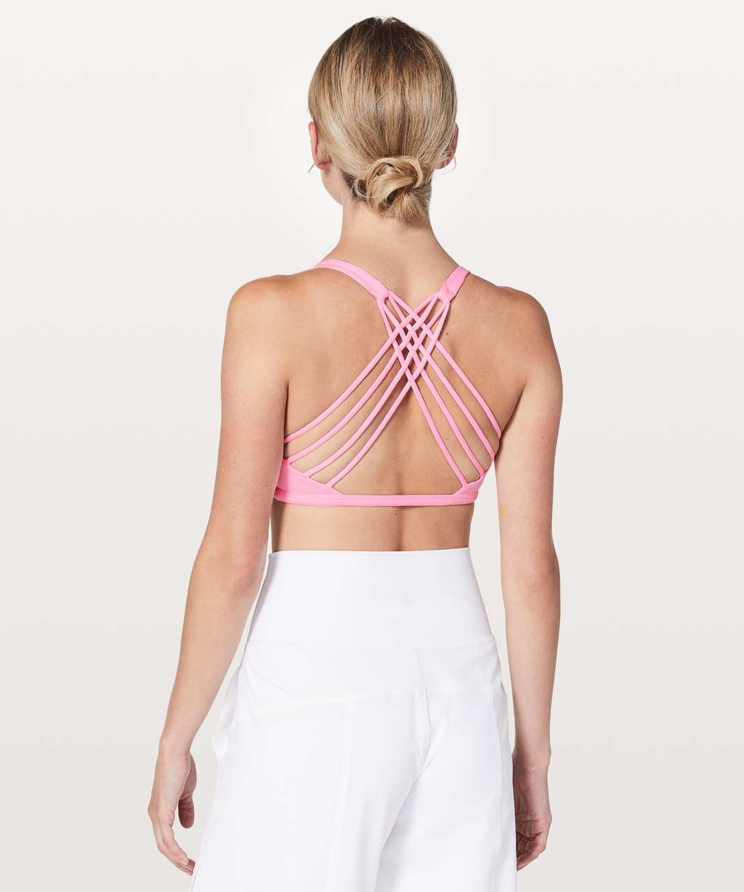 Lululemon Free To Be Bra (Wild) - Miami Pink