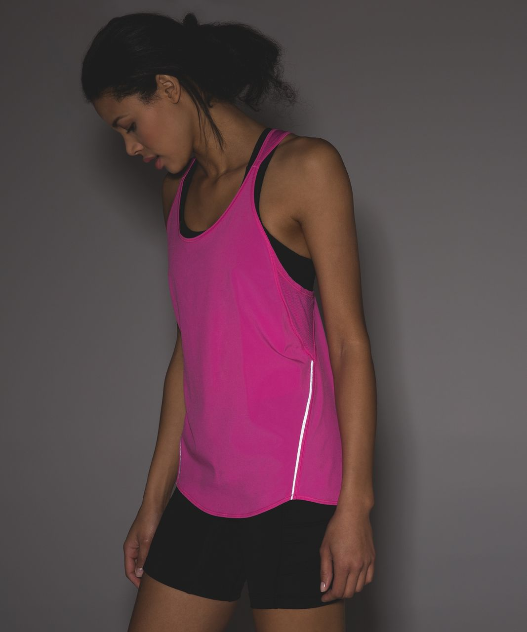Lululemon Real Quick Singlet - Pink Paradise