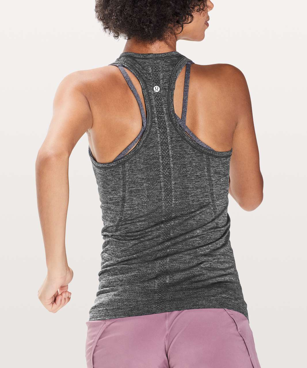 Lululemon Swiftly Tech Racerback - Black / Anchor