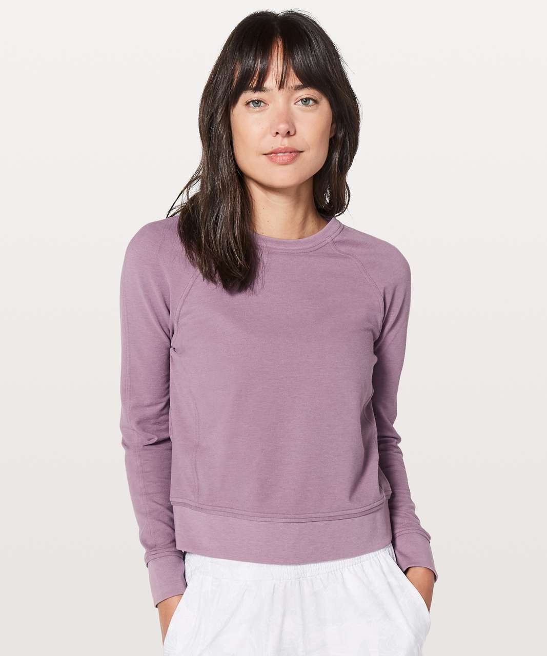 Lululemon Every Moment Crew - Vintage Quartz