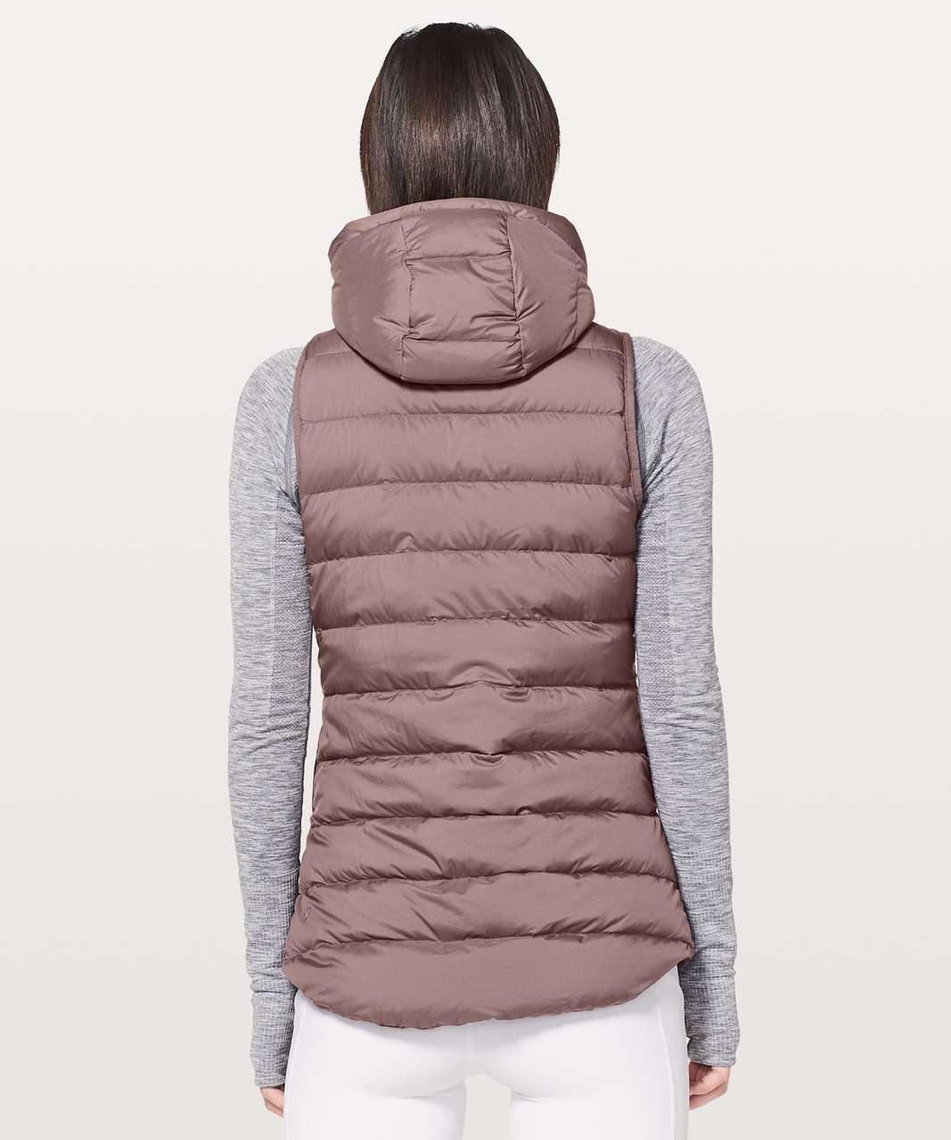 Lululemon Pack It Down Vest - Mauve Stone