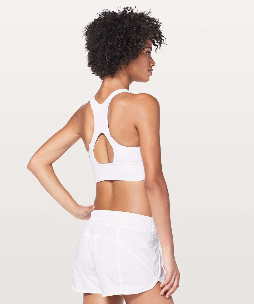 Lululemon Run Stuff Your Bra *Long Line - White