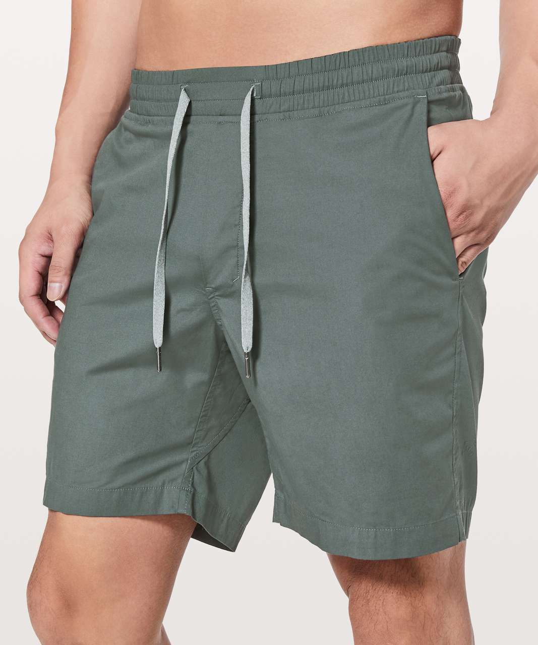 "Lululemon Bowline Short *8"" - Sea Steel"