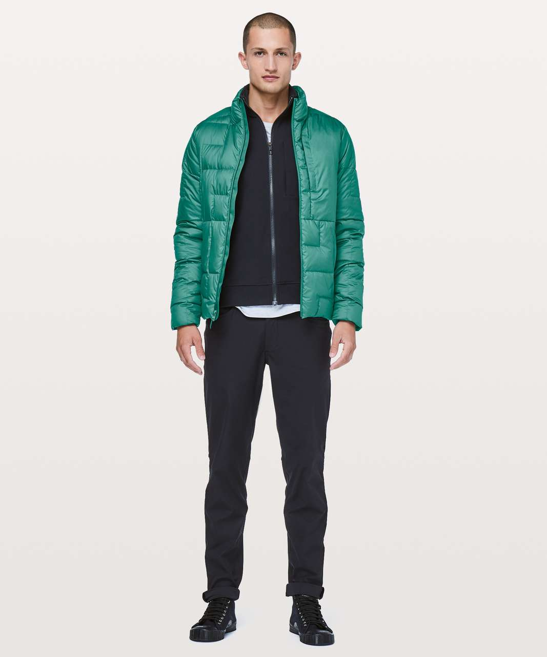 Lululemon Pack It Down Jacket - Camp Green