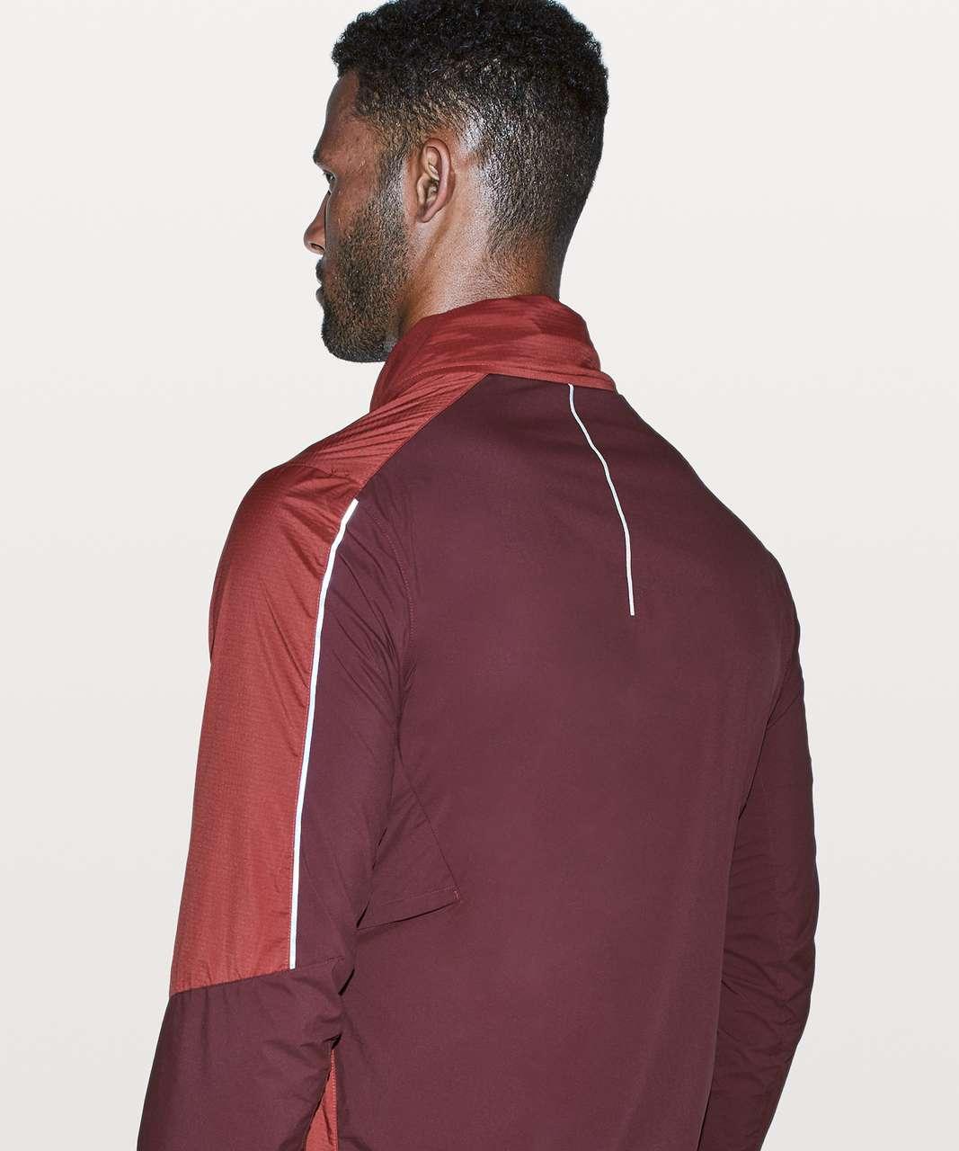 Lululemon Active Jacket - Magma / Mahogany