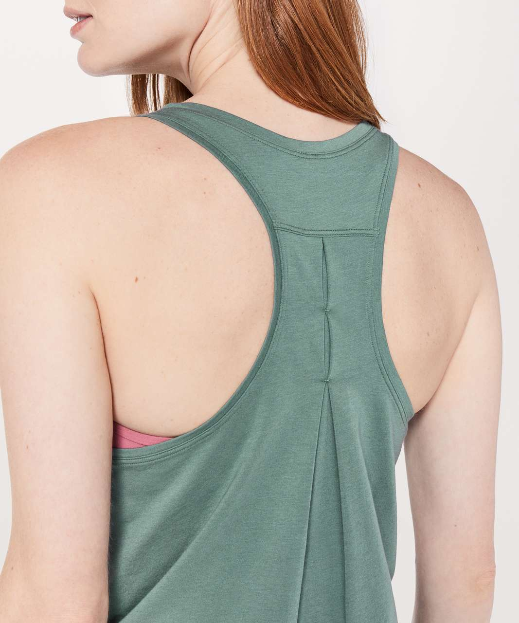Lululemon Love Tank *Pleated - Juniper