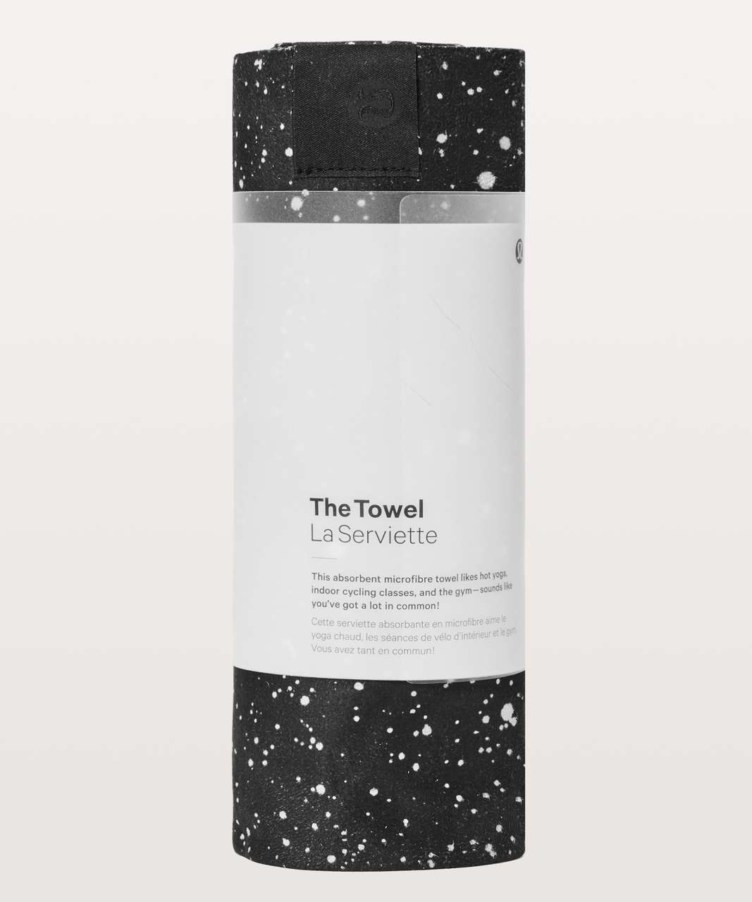 Lululemon The Towel - Bleached Towel Starlight Black
