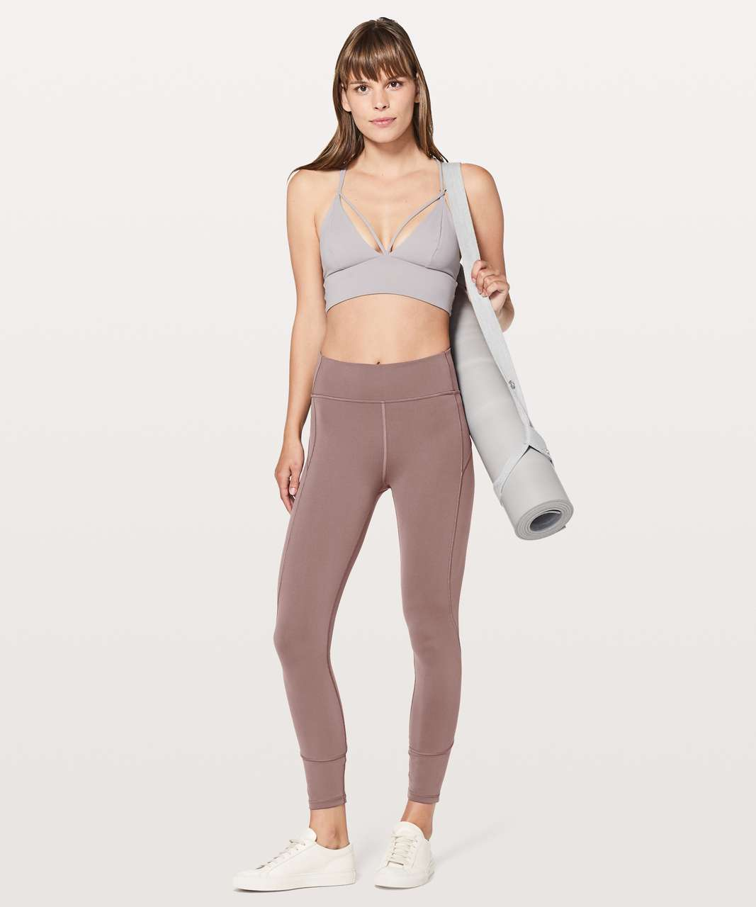 "Lululemon In Movement 7/8 Tight *Everlux 25"" - Antique Bark"