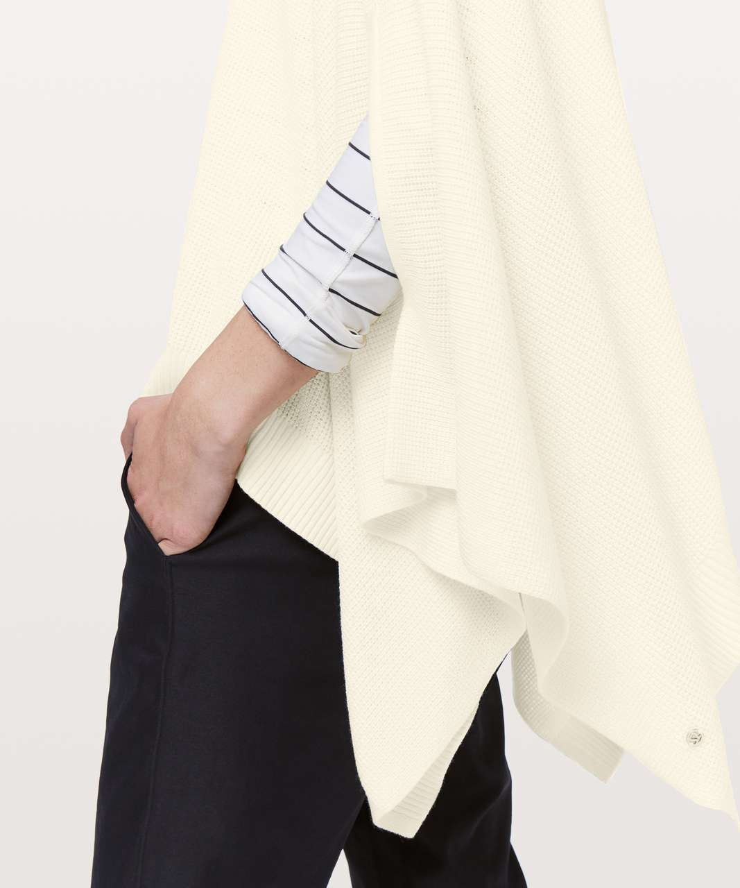 Lululemon Forward Flow Cape - Light Ivory