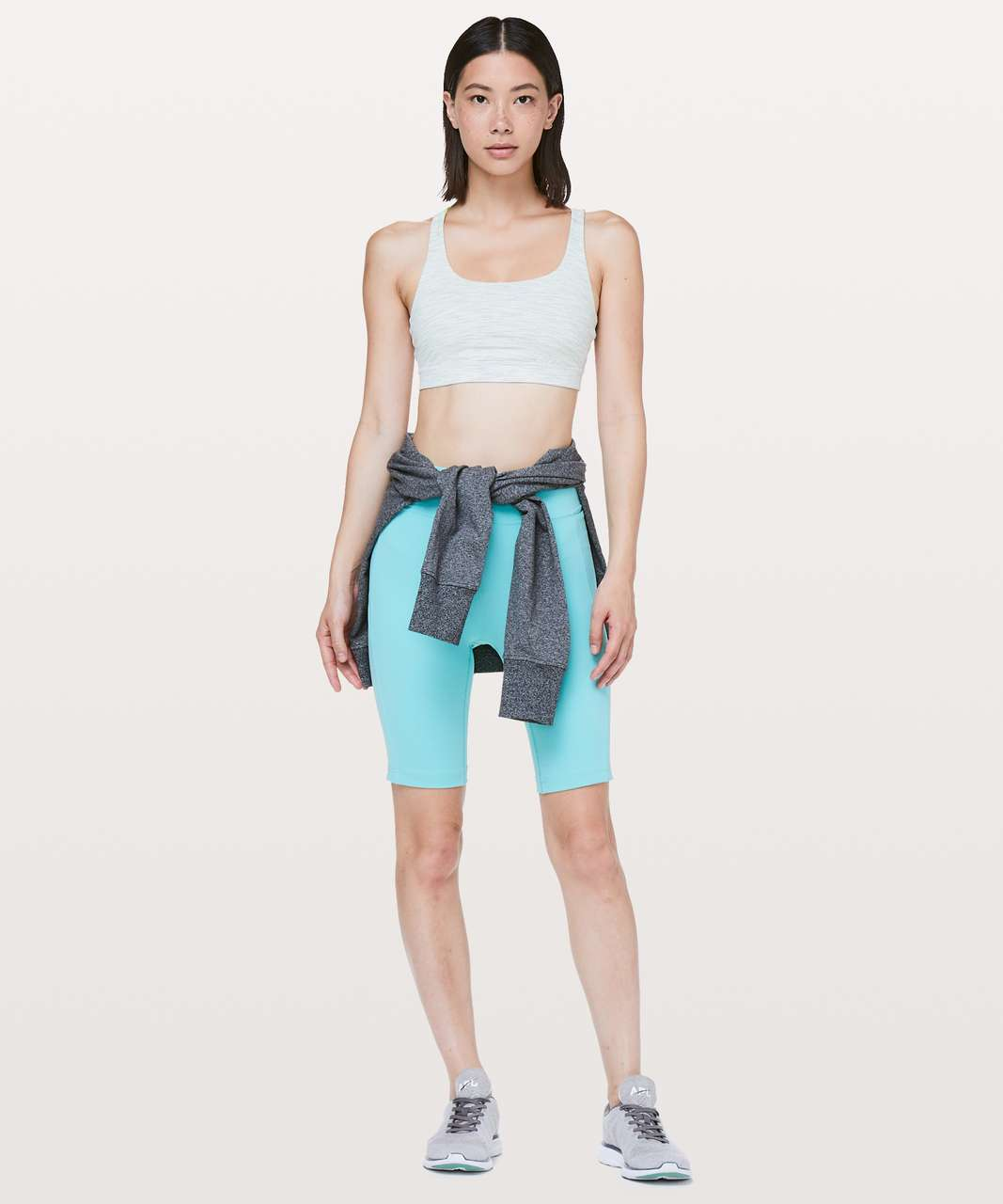 Lululemon Energy Bra - Wee Are From Space Nimbus Battleship / Citra Lime
