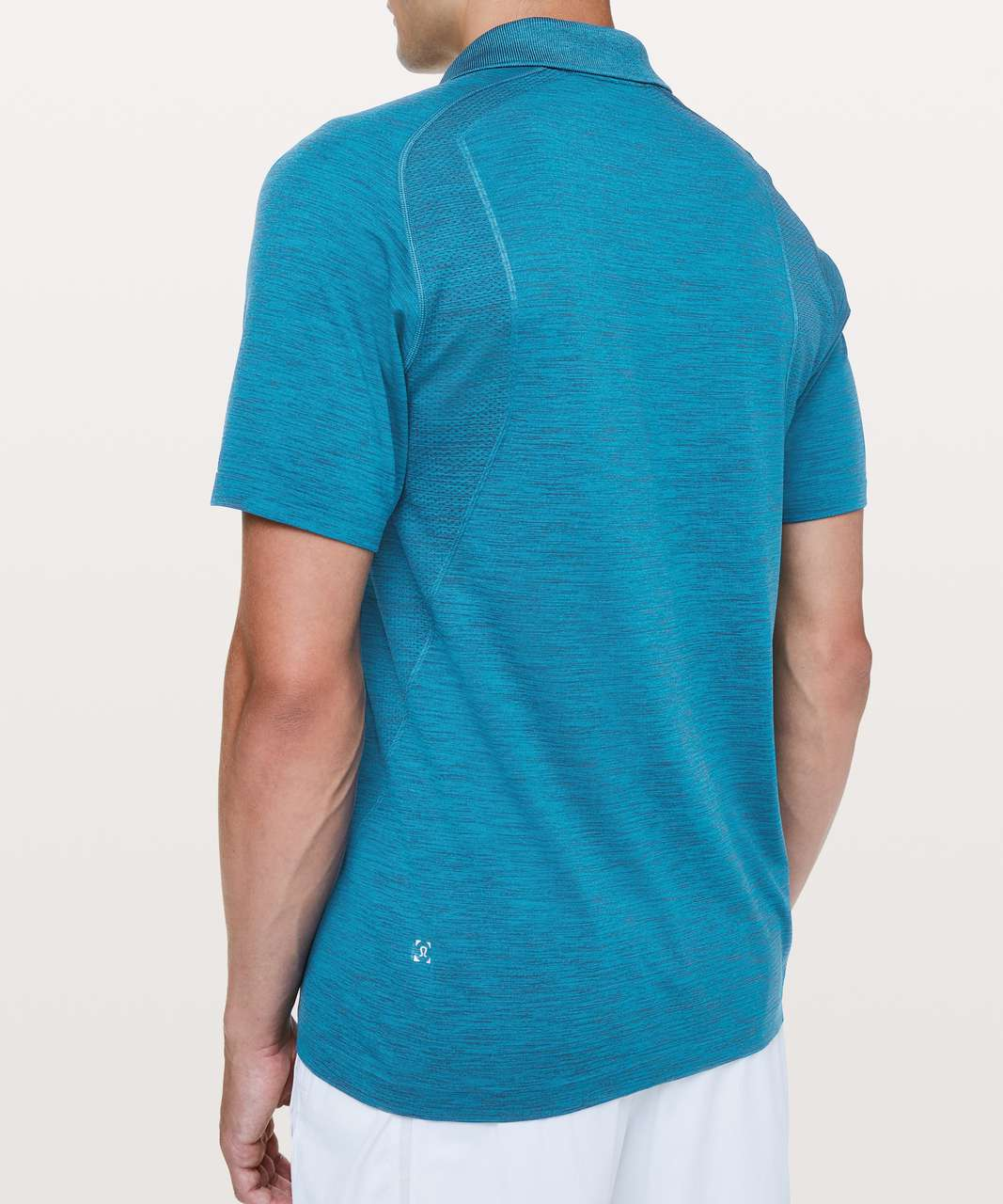Lululemon Metal Vent Tech Polo - Poseidon / Amalfi Blue