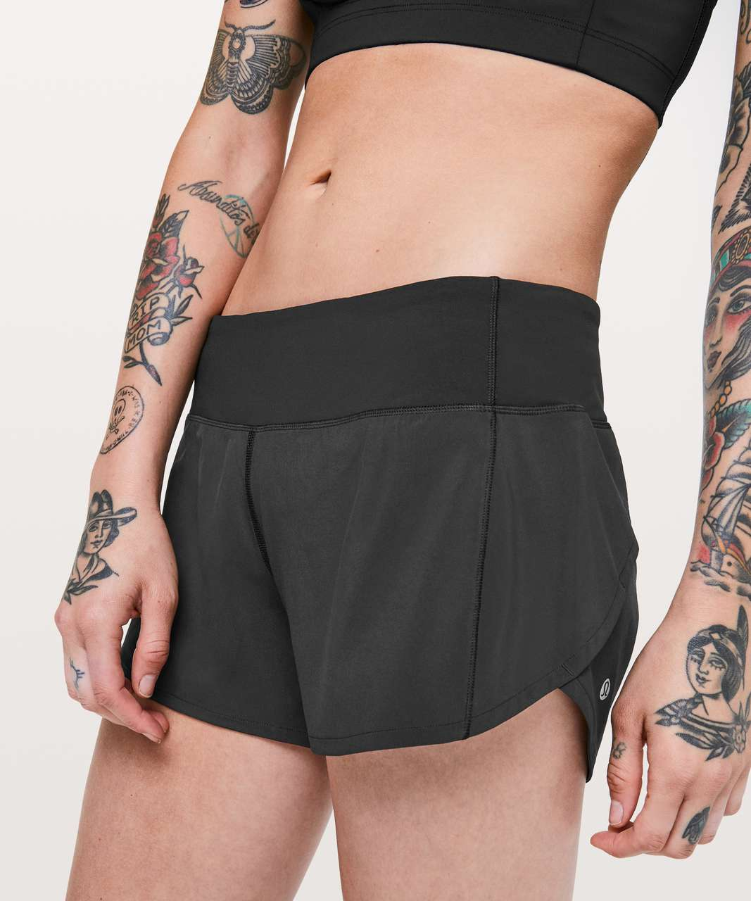 "Lululemon Speed Up Short *Long 4"" - Black"