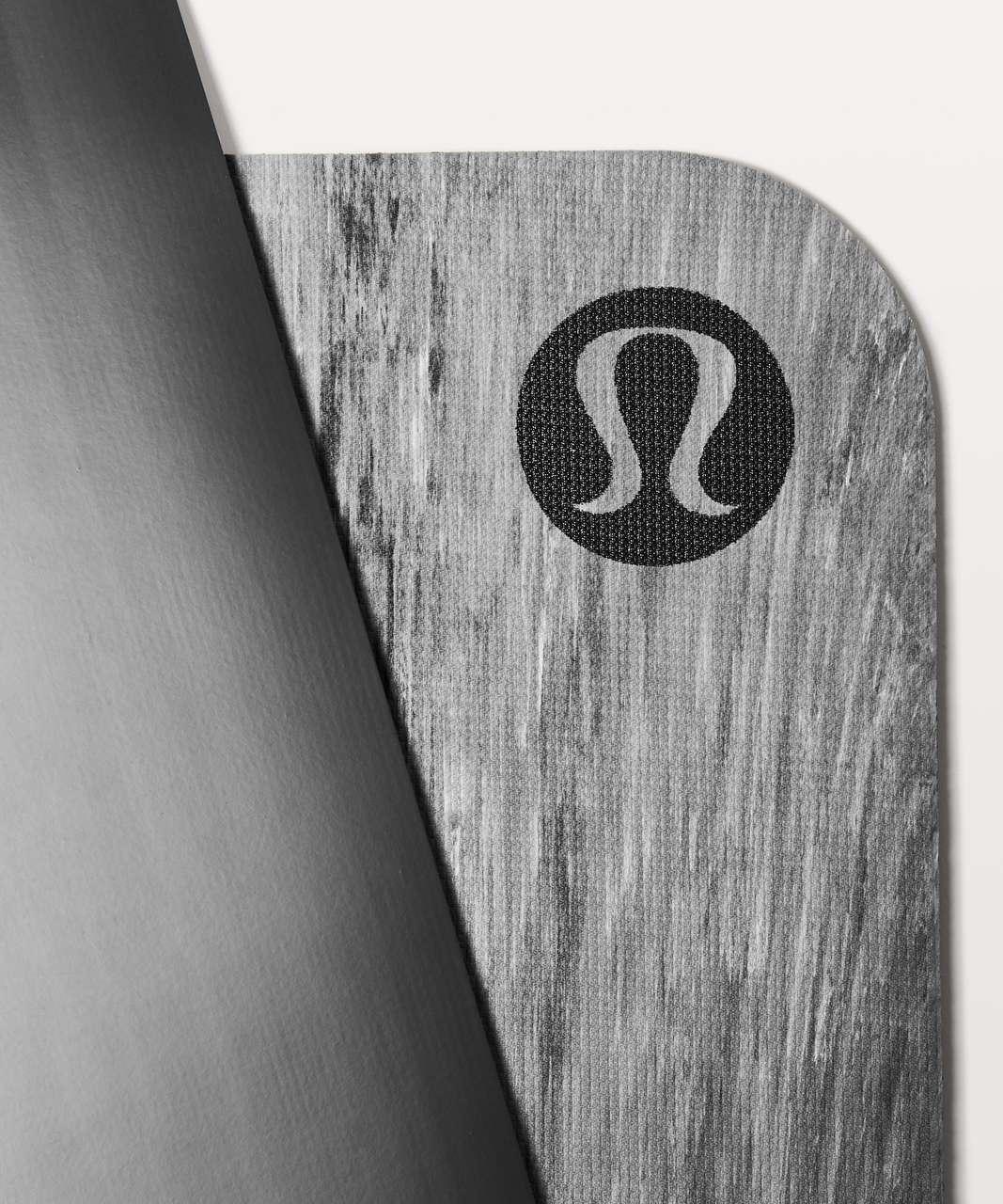 Lululemon The Reversible Mat 5mm - Black / White