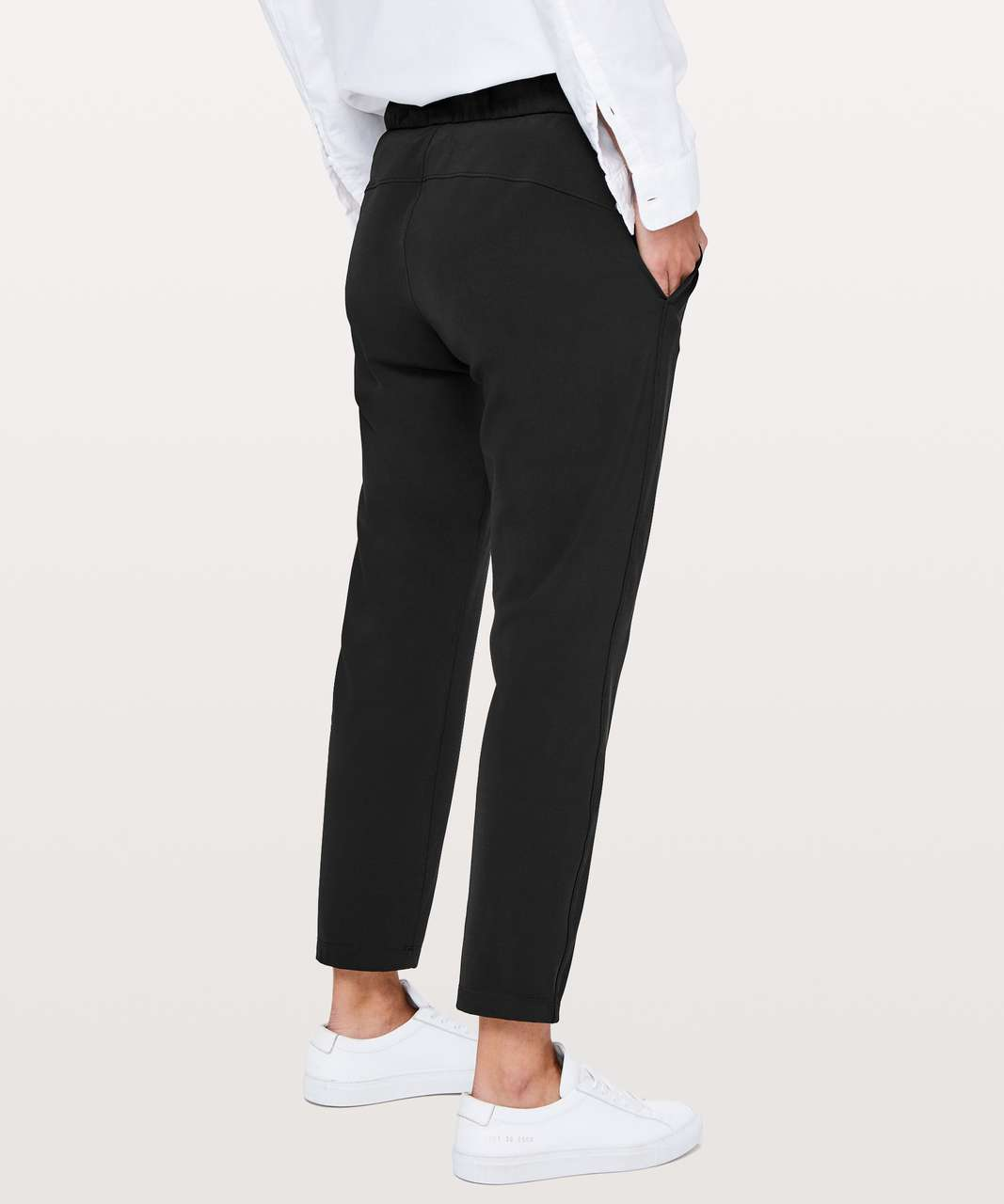 "Lululemon On The Fly Pant *28"" - Black"