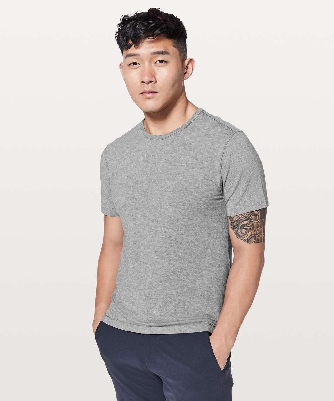 Lululemon 5 Year Basic Tee *Updated Fit - Heathered Core Medium Grey