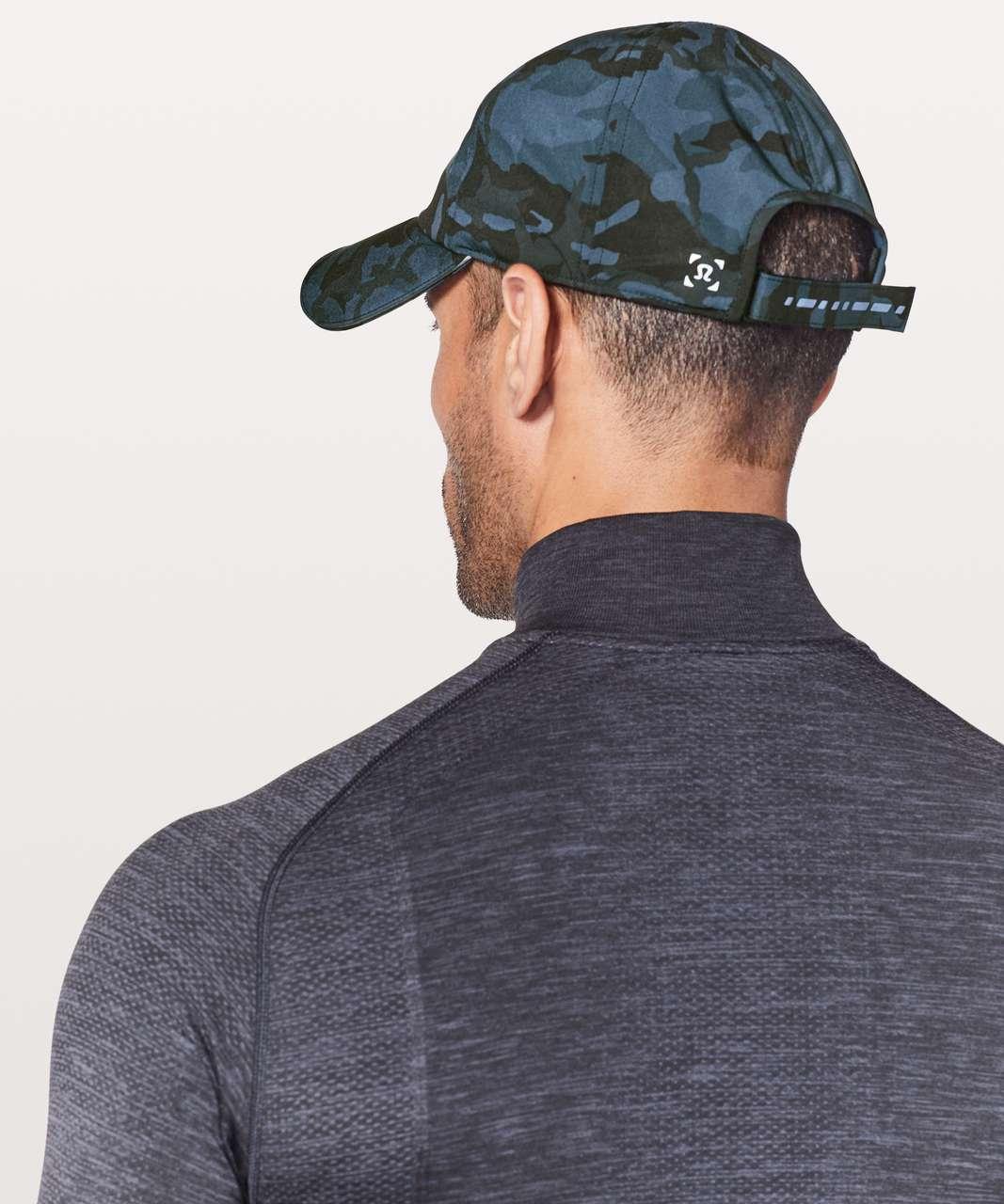 Lululemon Lightspeed Run Hat - Incognito Camo Blue Multi