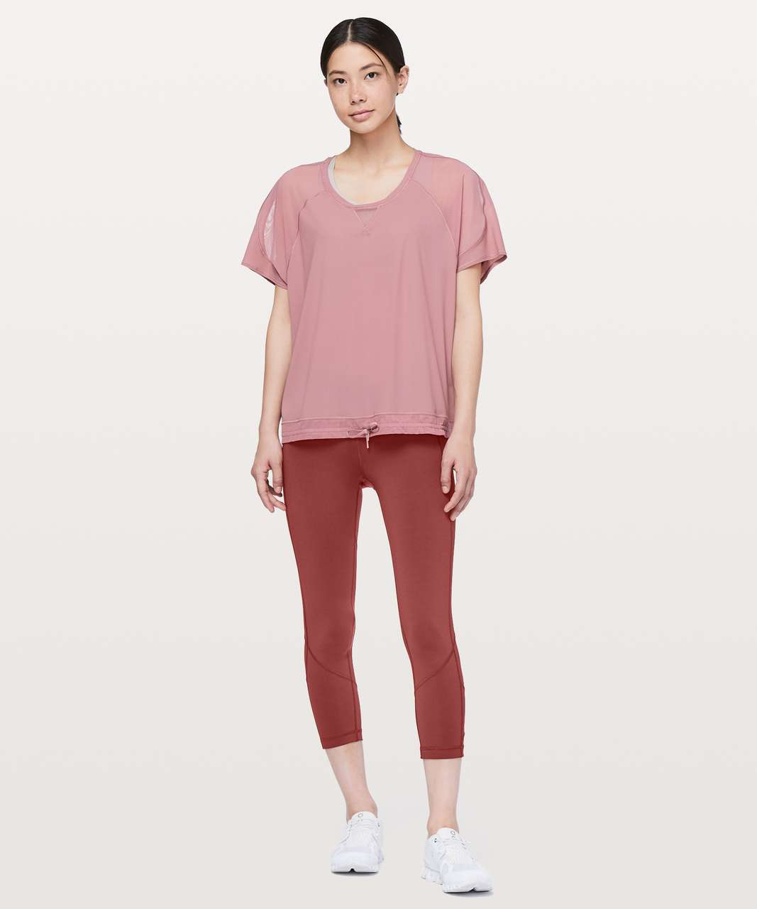 "Lululemon Pace Rival Crop *22"" - Savannah"