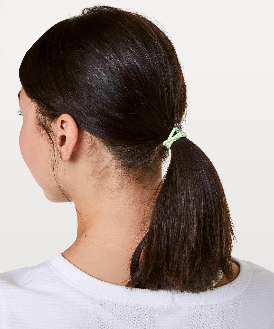 Lululemon Glow On Hair Ties - Toothpaste / Bali Breeze / Citra Lime