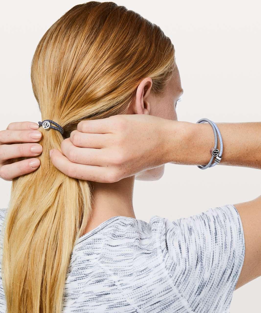 Lululemon Glow On Hair Ties - Lavender Dusk / Cadet Blue / Lilac Stone