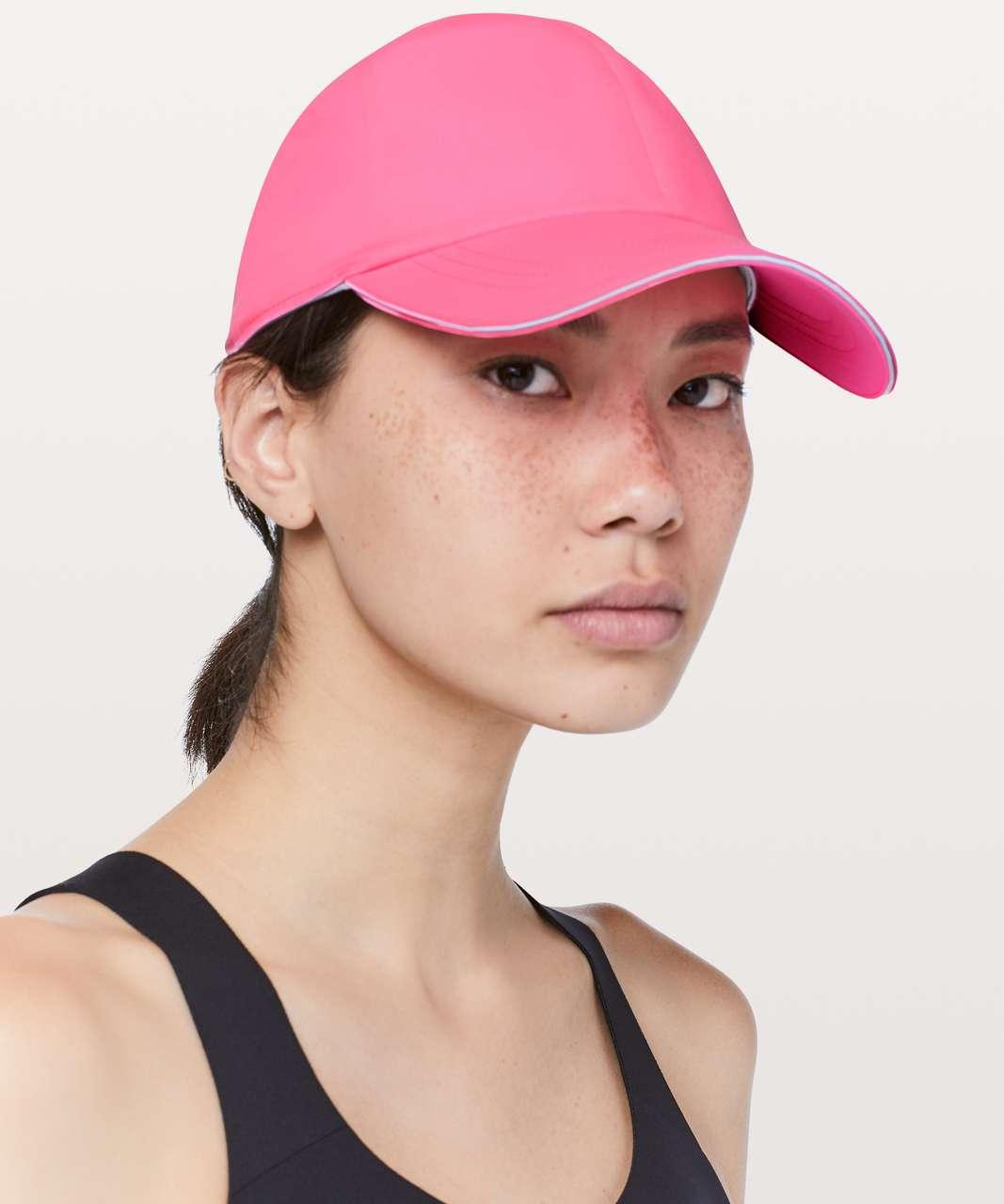 63d33239 Lululemon Baller Hat Run - Zing Pink Light - lulu fanatics