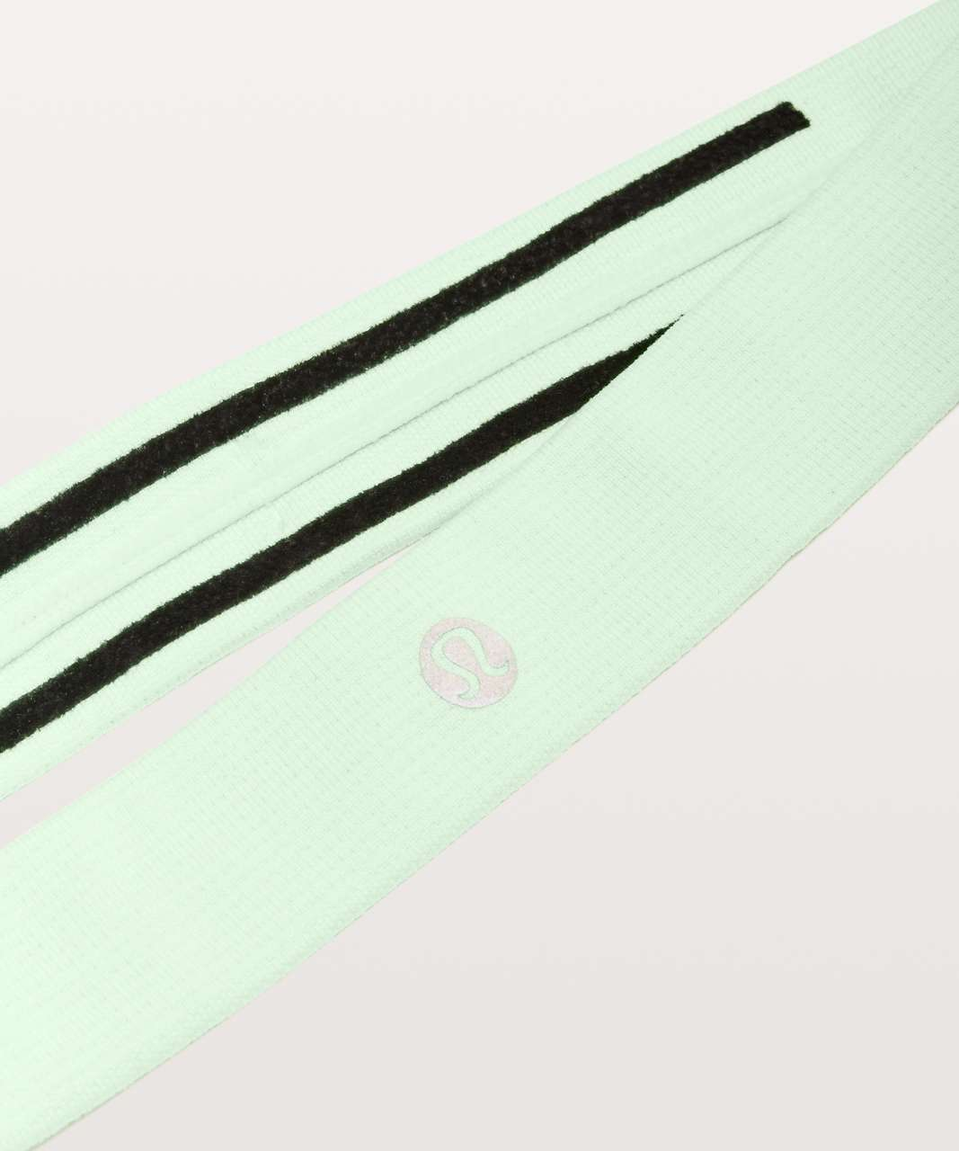 Lululemon Cardio Cross Trainer Headband - Citra Lime / White