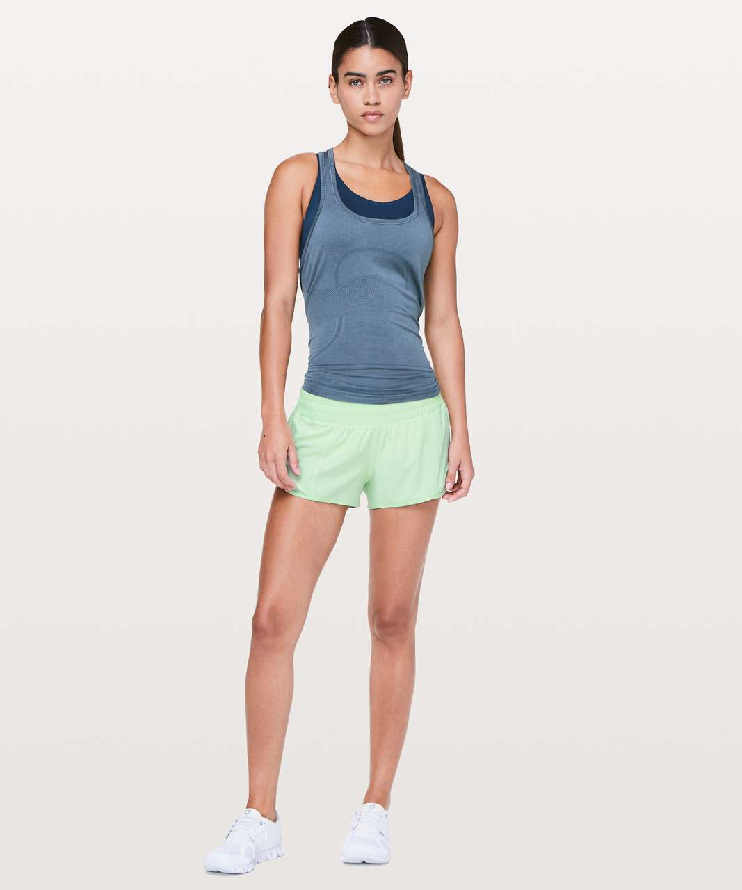 "Lululemon Hotty Hot Short II *2.5"" - Citra Lime"