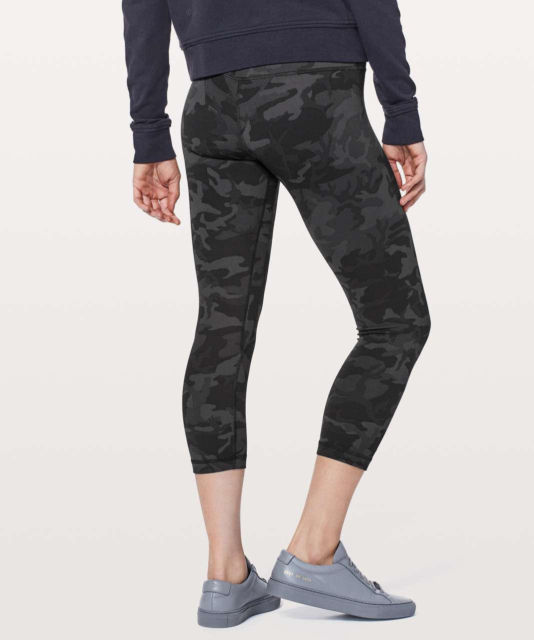 "Lululemon Align Crop *21"" - Incognito Camo Multi Grey (First Release)"