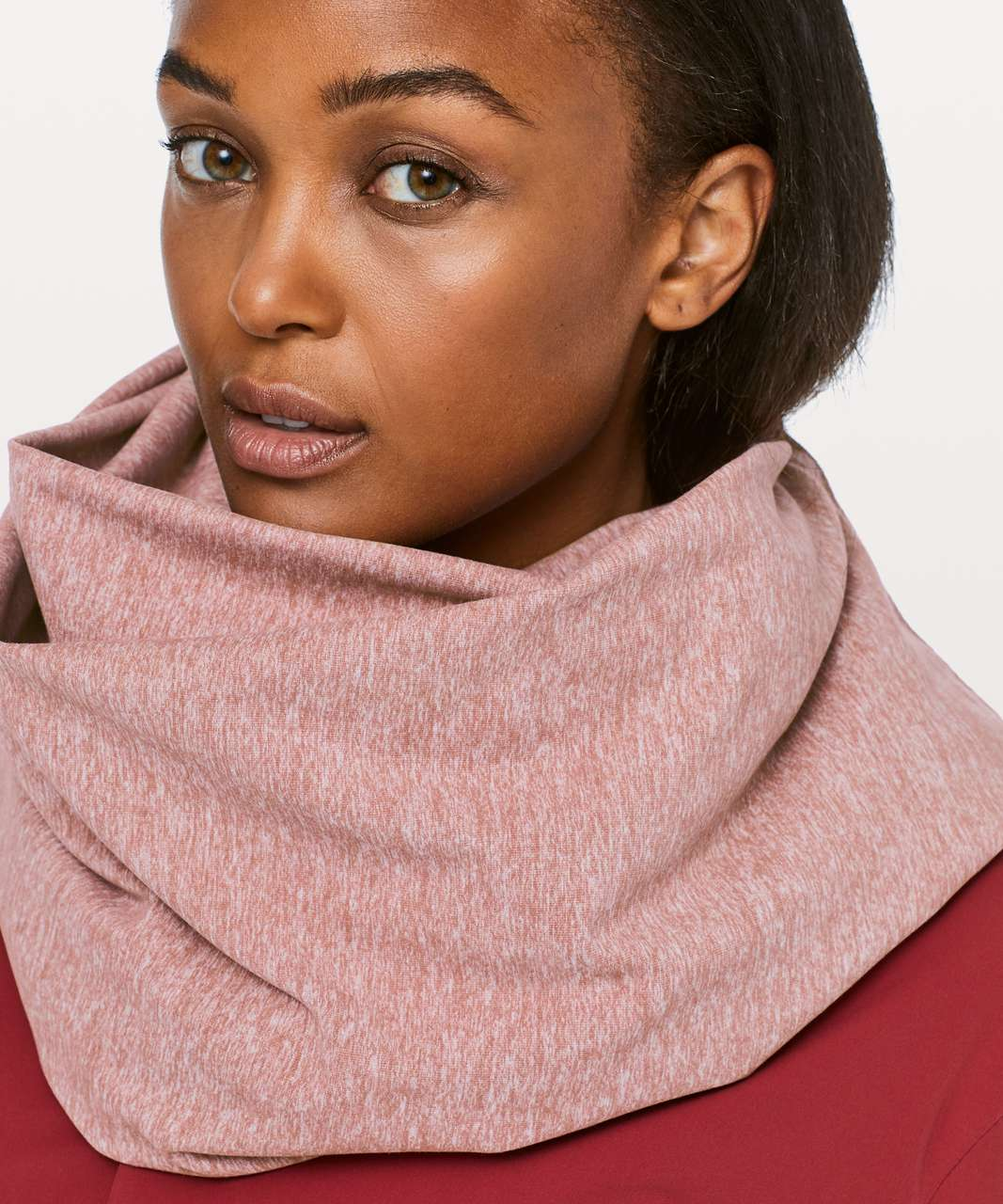 Lululemon Vinyasa Scarf *Rulu - Heathered Red Dust