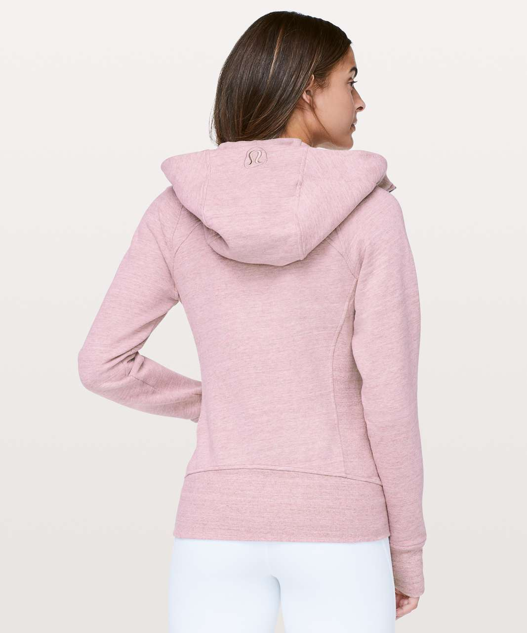 Lululemon Scuba Hoodie *Light Cotton Fleece - Heathered Space Dyed Vintage Mauve