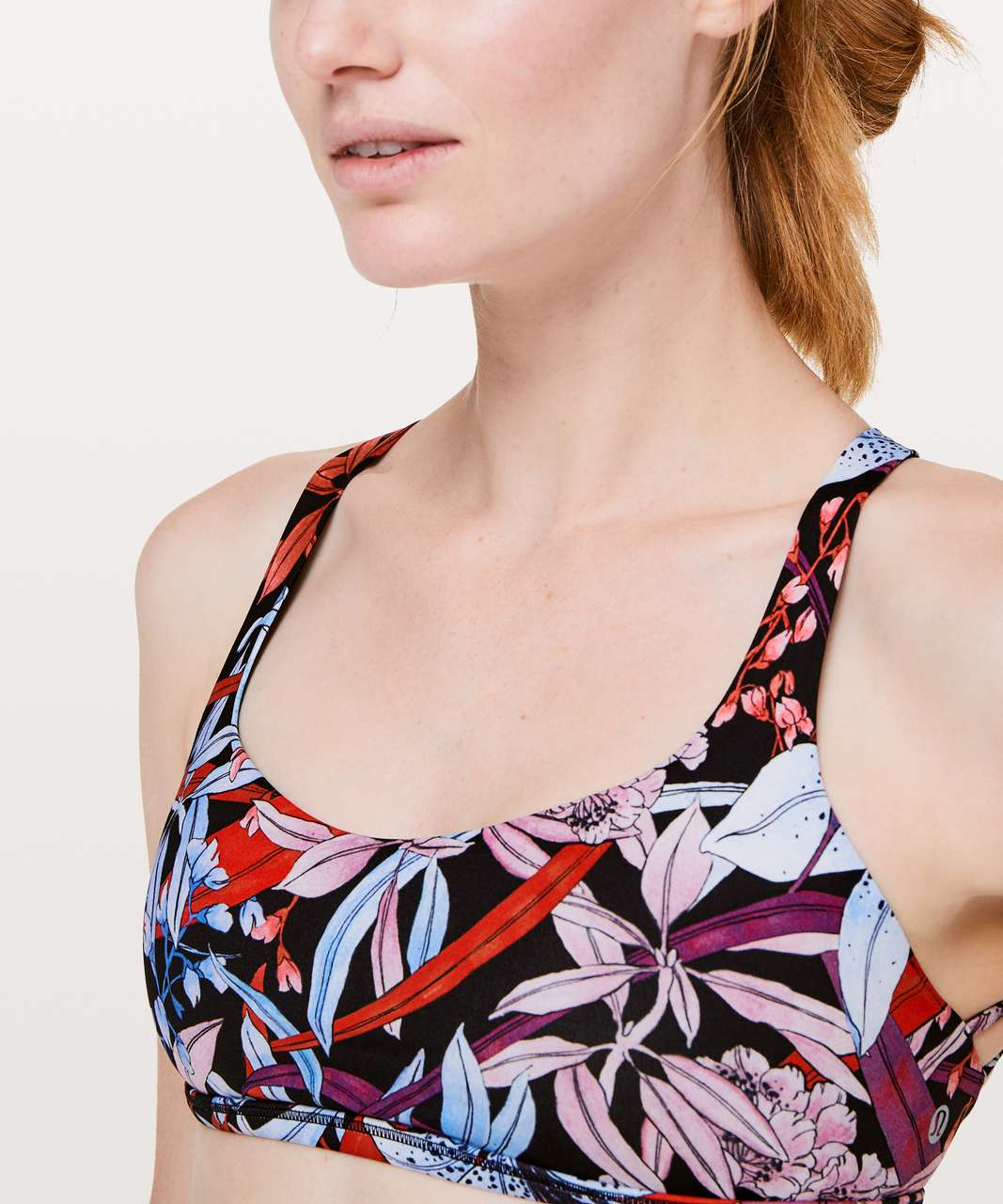 Lululemon Free To Be Bra (Wild) - Lush Lillies Multi
