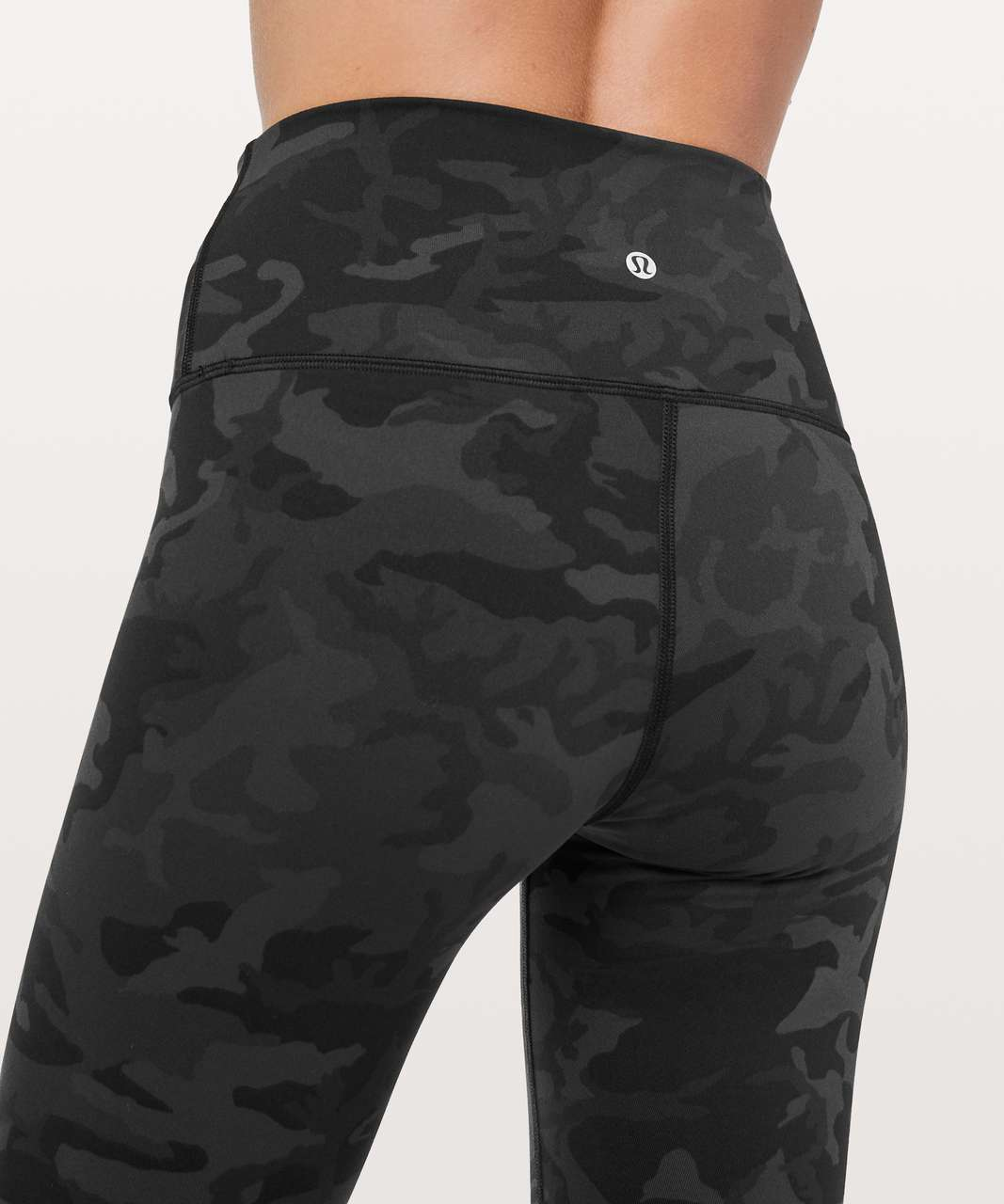 "Lululemon Wunder Under Hi-Rise Tight *28"" - Incognito Camo Multi Grey"