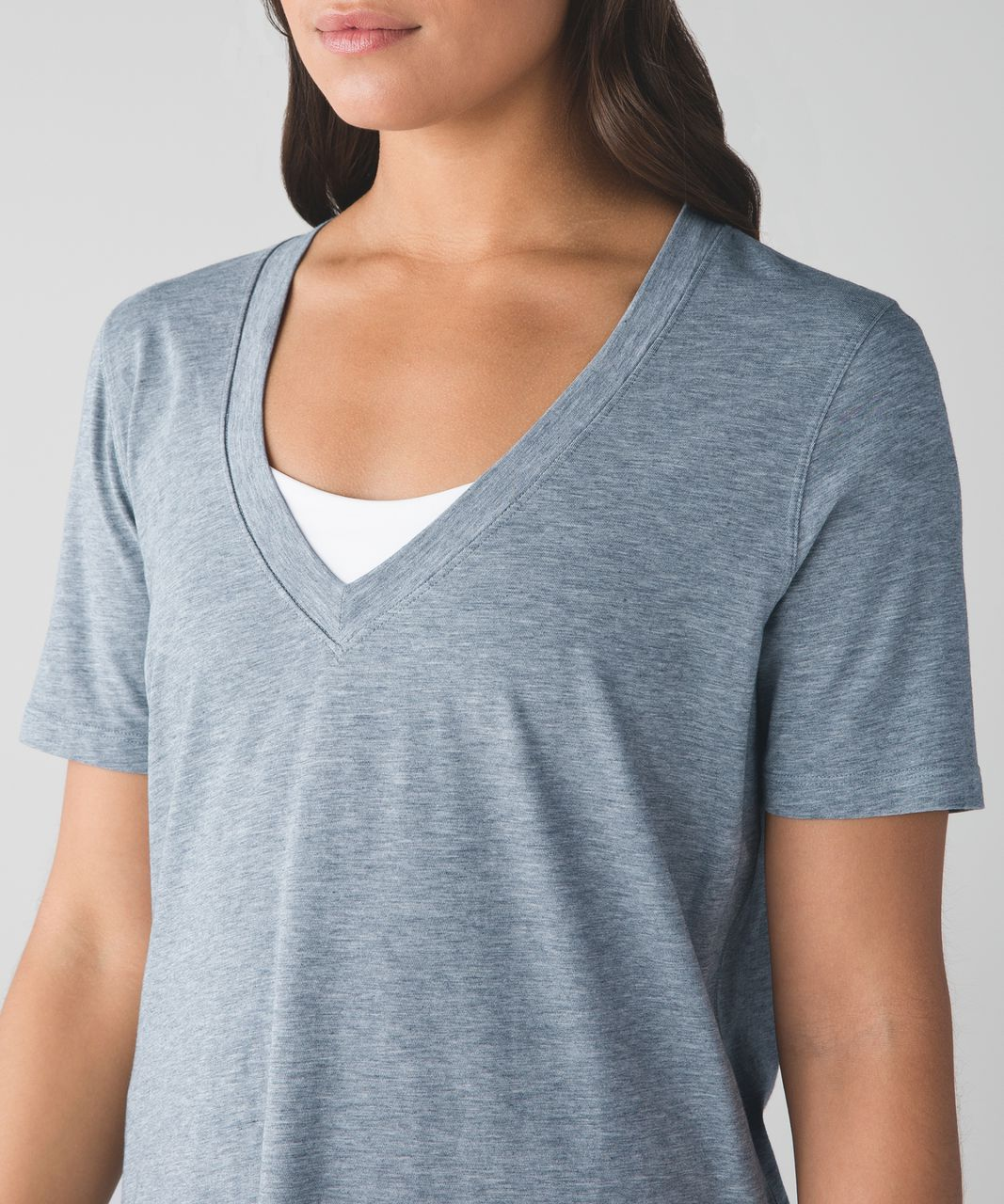 Lululemon Love Tee III - Heathered Medium Grey