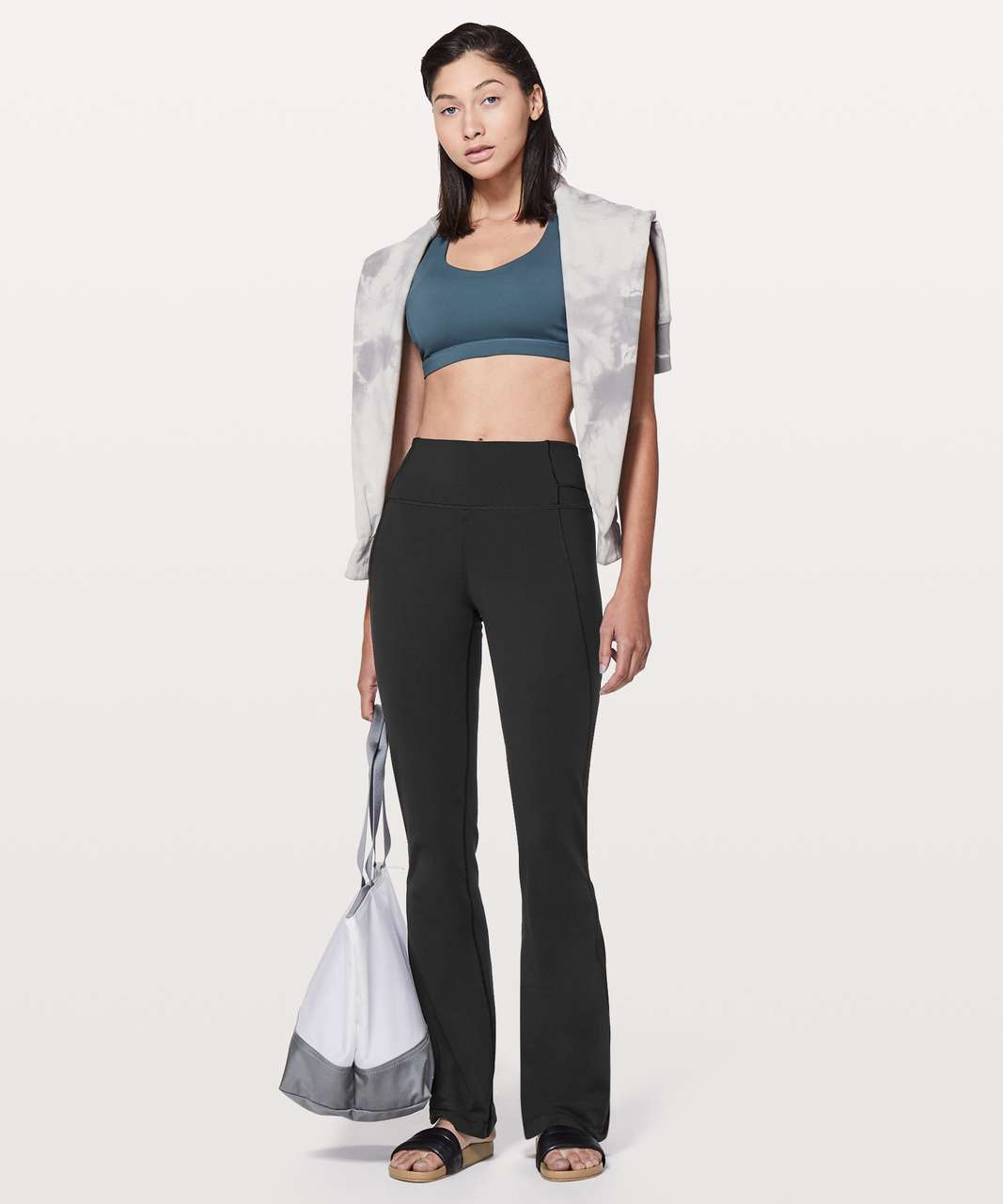 """Lululemon Groove Pant Flare *32"""" - Black (First Release)"""