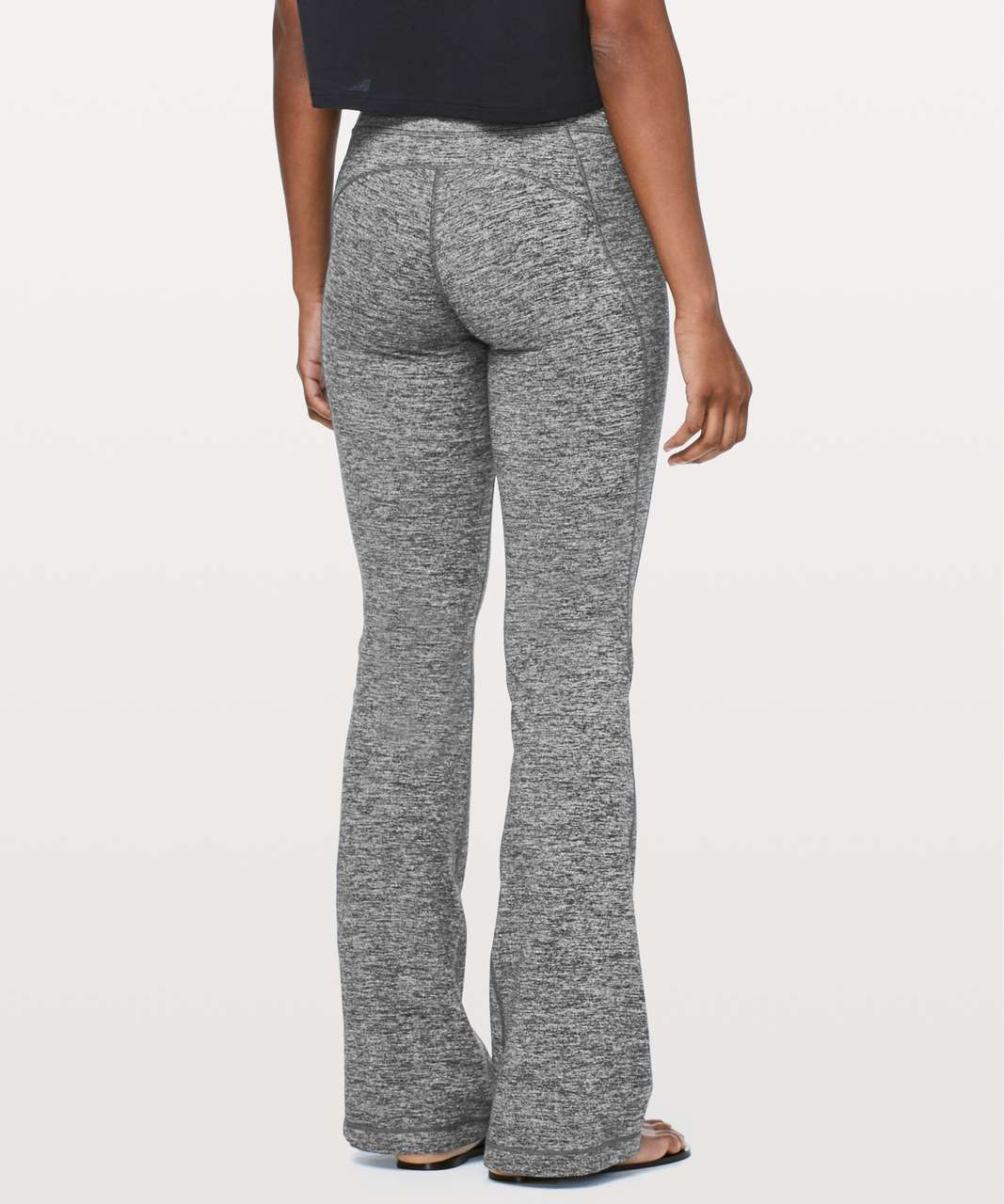 "Lululemon Groove Pant Flare *32"" - Heathered Black"