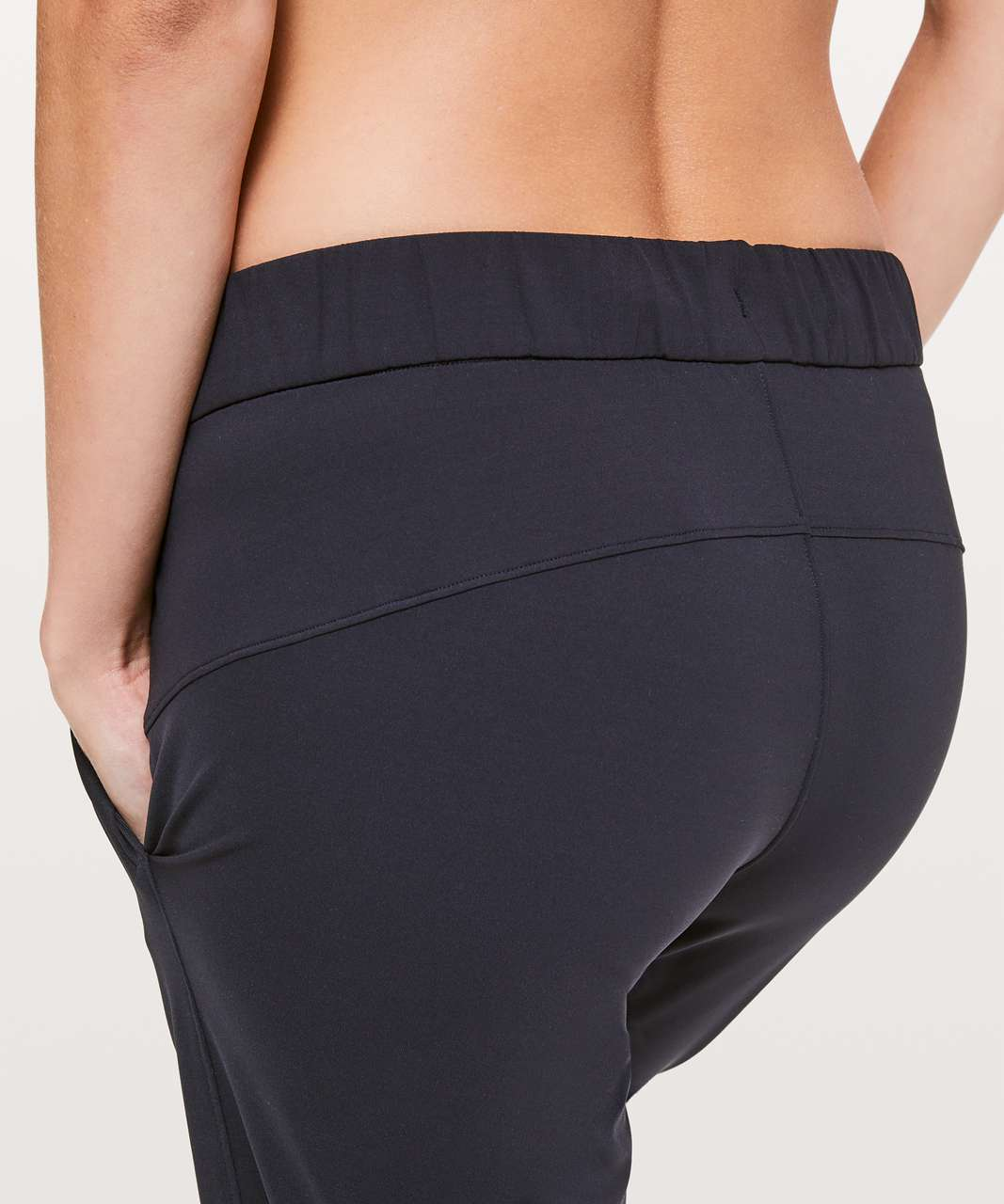 """Lululemon On The Fly Crop *23"""" - Black (First Release)"""