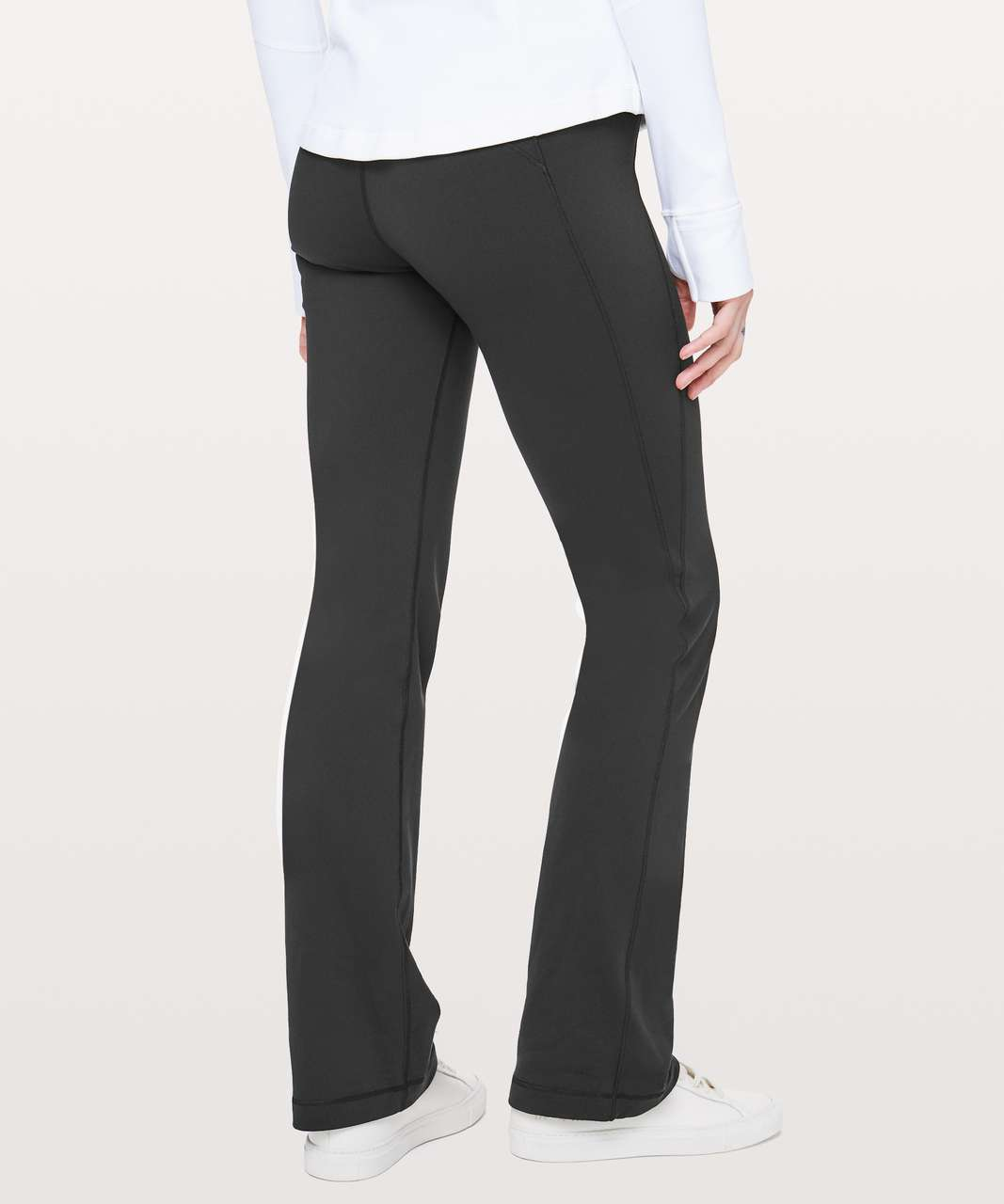 """Lululemon Groove Pant Bootcut 32"""" - Black (First Release)"""