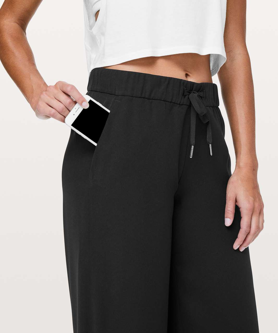 "Lululemon On The Fly Pant *Wide Leg 31"" - Black"