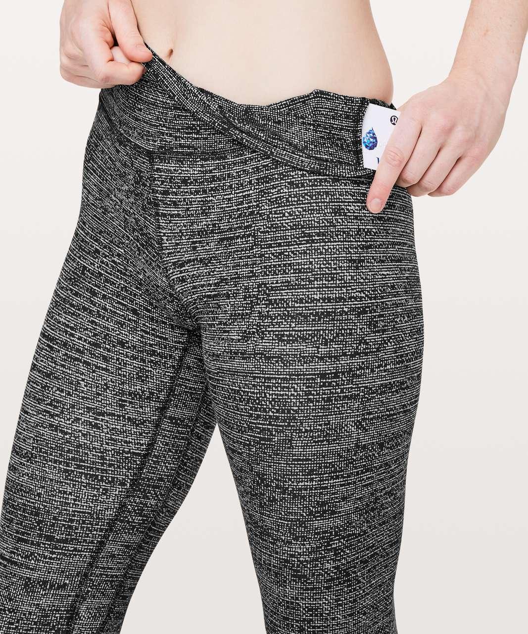 """Lululemon Align Pant II *25"""" - Twillines Ice Grey Black"""