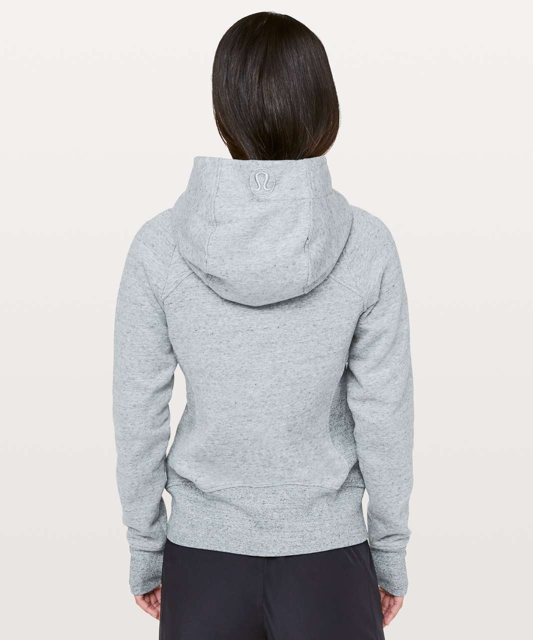 Lululemon Scuba Hoodie *Light Cotton Fleece - Heathered Silver Lake Slub