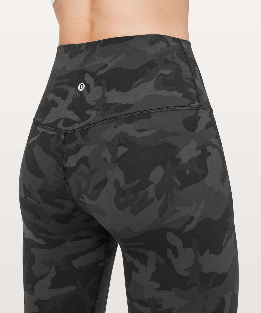 "Lululemon Align Pant *Full Length 28"" - Incognito Camo Multi Grey"