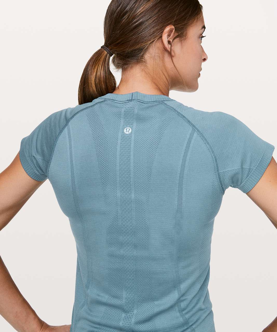 Lululemon Swiftly Tech Short Sleeve Crew - Slate Blue / Slate Blue