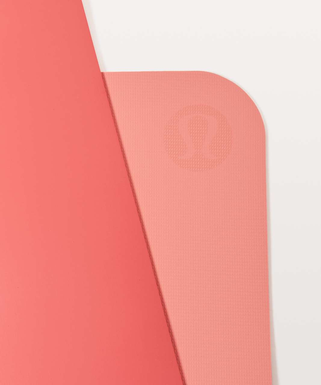 Lululemon The Reversible Mat 5mm - Cape Red / Sunny Coral